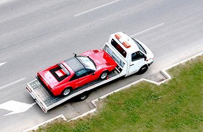 Towing a Car